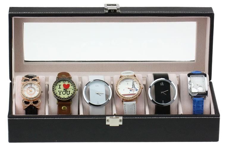 pas cher personnalis montre de luxe en bois bo te de. Black Bedroom Furniture Sets. Home Design Ideas