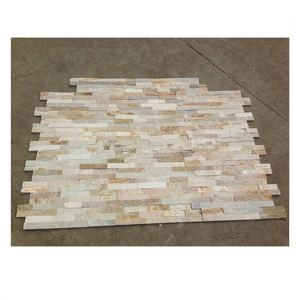 yellow quartzite slate tiles
