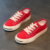 YY10002S Lace up candy color canvas shoes for kids wholesale