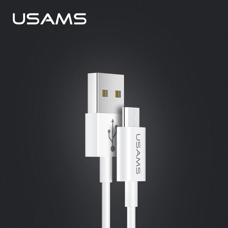 USAMS U23 1 m reversible light ultra thin micro usb ข้อมูลสายชาร์จ
