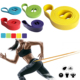"41"" Resistance Bands Natural Latex Expander Power Cross Fit 208CM Yoga Rubber Loop Band"