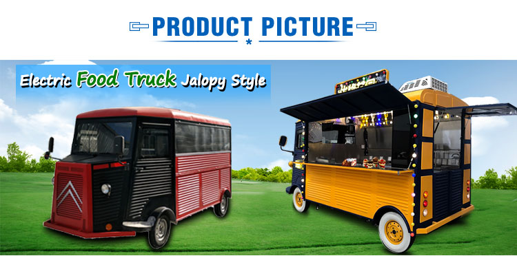 High Quality Electric Food Van for Fast Food Cart