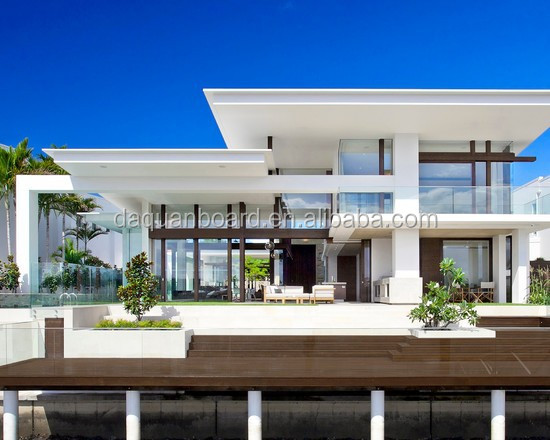 modern style sunny house for coast resort area