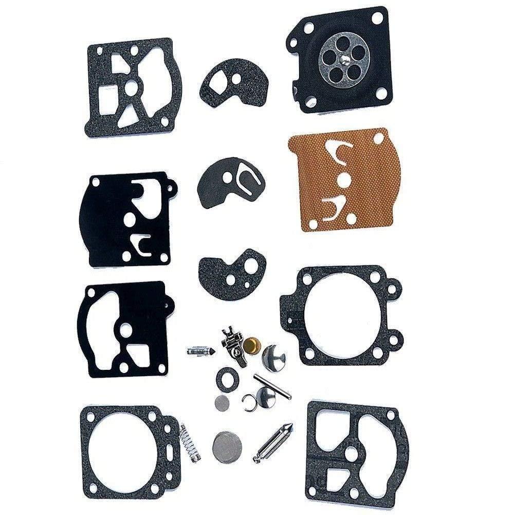 AISEN Carburetor Diaphragm Gakset Repair Rebuild Kit for K10-WAT WT-192 WT-200 WT-239 WT-259 WT-309 WT-310 WT-317 WT-324 WT-345 WT-379 WT-387