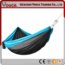 2017 Hot Summer Outdoor Wholesale Nylon Taffeta Camping Double Widened 300x180cm Camping Hammock