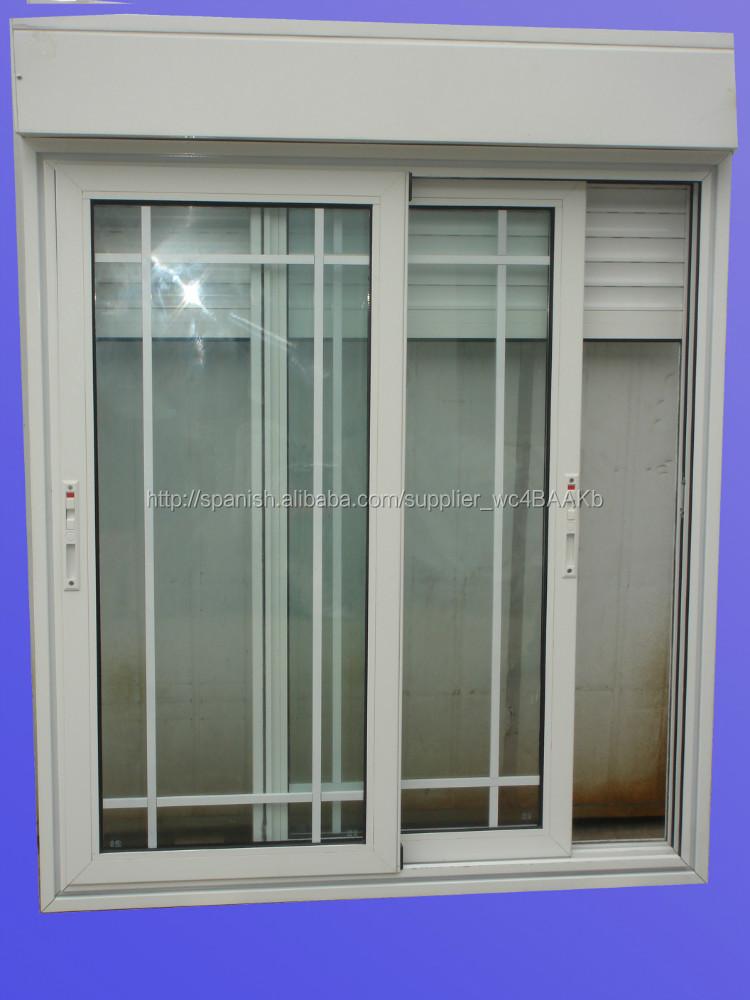Mosquitera persiana ventana de aluminio ventanas for Ventanas con persianas incorporadas