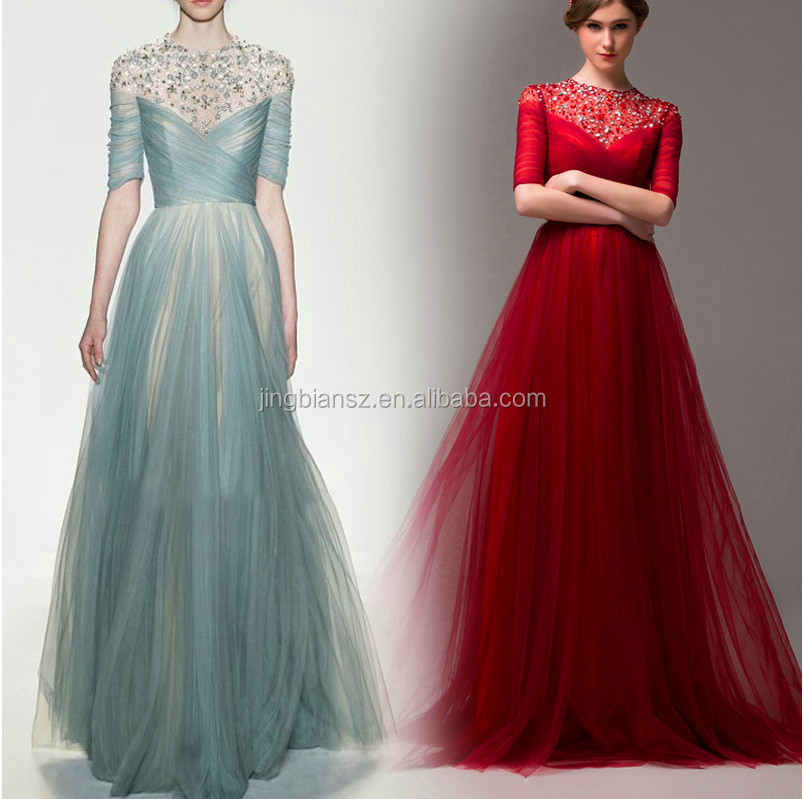 Designer Evening Gowns With Sleeves, Designer Evening Gowns With ...