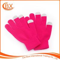 Factory Sale Magic Cute Knit Winter Men Women Warm Wool Touch Screen Gloves