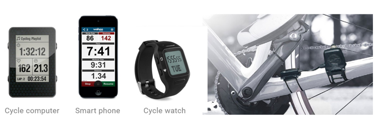 Factory wholesale outdoor cycling speed and cadence sensor dual mode BLE4.0 and ANT+ bike cycling sensor