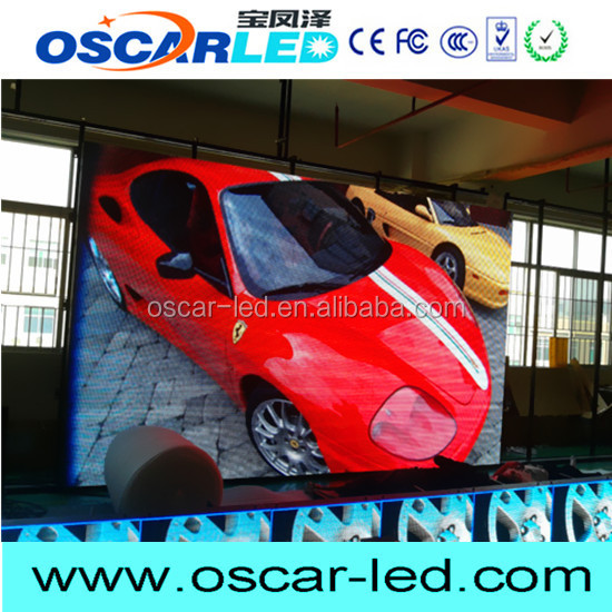 oscarled hot brand new product programmable led curtain display with great price