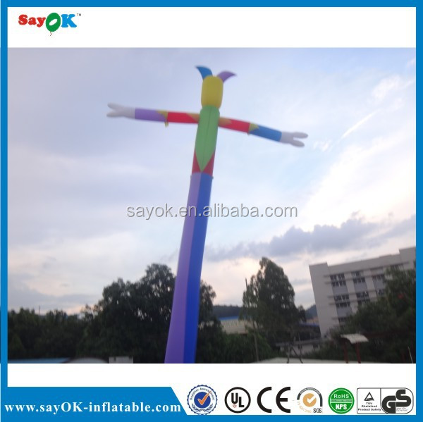 Customized sky tube dancing inflatable advertising man air dancer blower