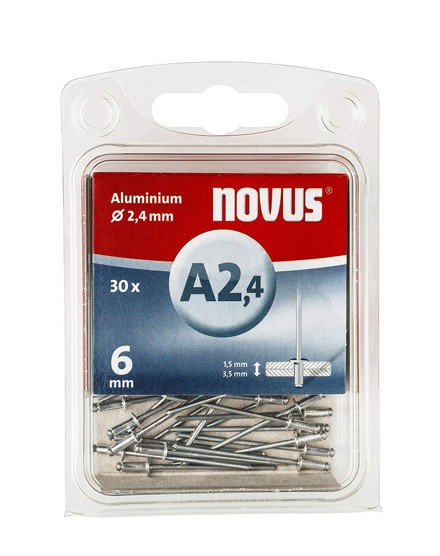 800 Qty Assorted Pack Aluminum Blind Rivets 3//16 Diameter 8 Sizes BCP193