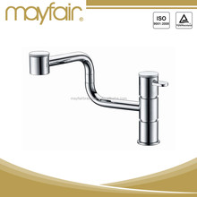 High Flow High Water single hole swivel kitchen sink taps faucet
