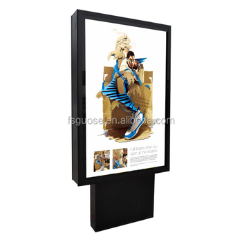 Superieur Outdoor Advertising Stands Pop Up Display Stand Picture Frame Stapler Color  Matching Light Box