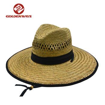 Fashion Printed Men Wide Brim Straw Hat Blank - Buy Straw Hat ... 0f223ccd1039