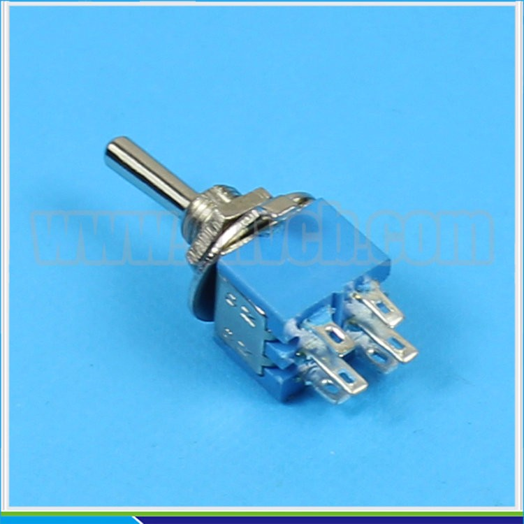 TS04 SMTS-202 SMTS-203 ON-ON or ON-OFF 6 PIN DPDT small toggle switch