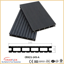 Hollow composite decking board wpc park flooring