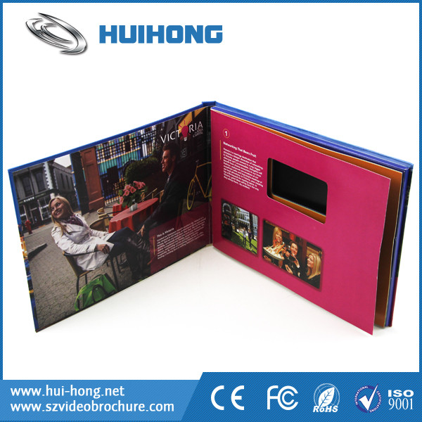 2016 Factory Customized A4 Size 7 Inch Lcd Digital Video Brochure ...