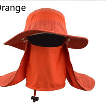 58a1932d858 Army green gray rose khaki orange camo wide brim bucket hat with string UV  face neck