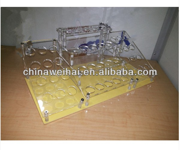 high quality Multi-functional acrylic cosmetic display rack