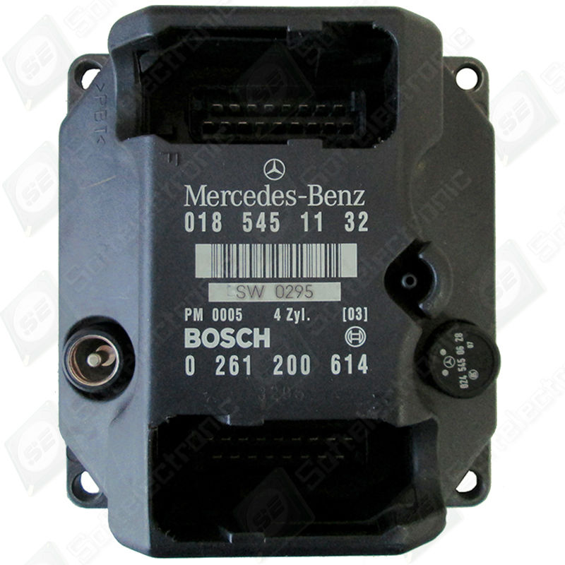 Repair Mercedes C Class W202 Ecu/pms/msg 018 545 11 32 Bosch 0 261 ...