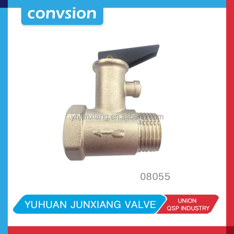 Junxiang 1/2 inch safety relief valve for water heater