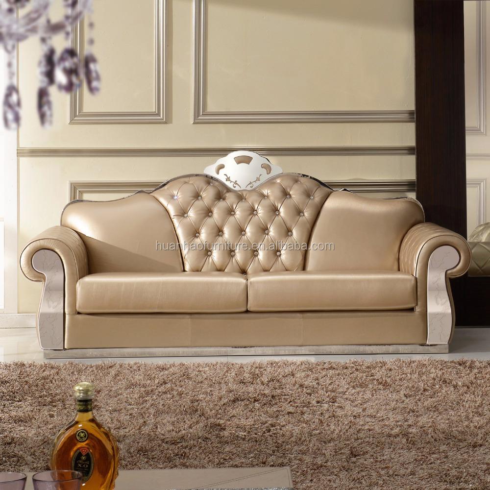 100 Top Grain Leather Sofa Set