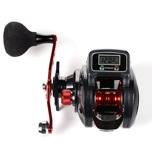 SHA300 Grey red hand fishing reel/electric reels