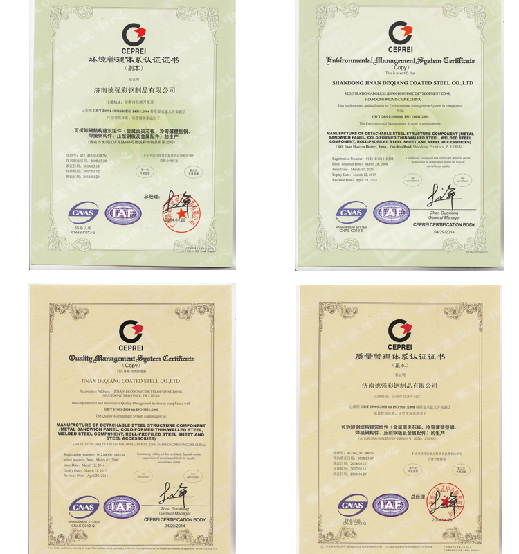 Color Coated Corrugated Roofing Materials Sgs/ce Certificates 1m ...