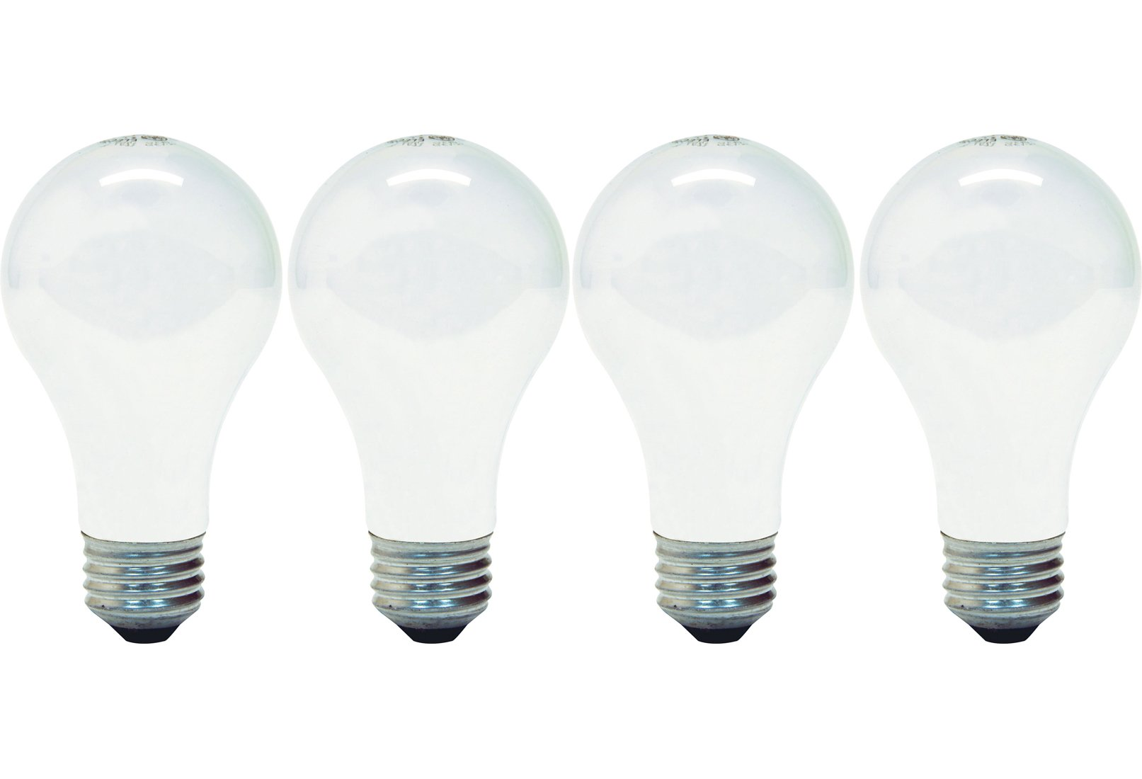 GE Lighting 66247 Energy-Efficient Soft White 43-Watt, 620-Lumen A19 Light Bulb with Medium Base, 4-Pack