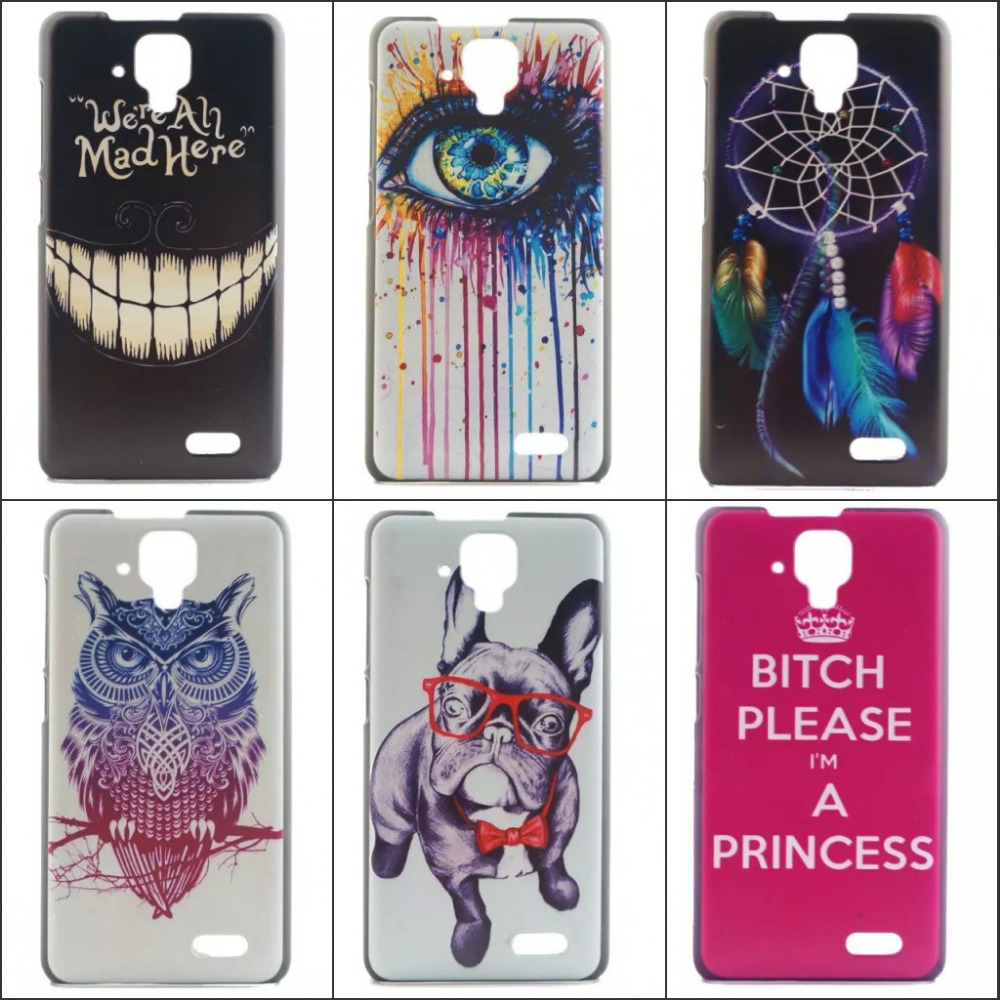 Lovely Painting 10 patterns PC High Quality classic Hard Cover Case for Lenovo A536 Back fashion