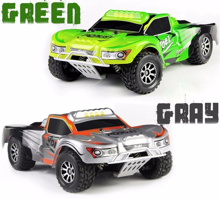 Original Wltoys RC Car A969 1 / 18 Scale Toys 4WD 50km/h RC Drift Short Course Long Distance Remote Control Cars