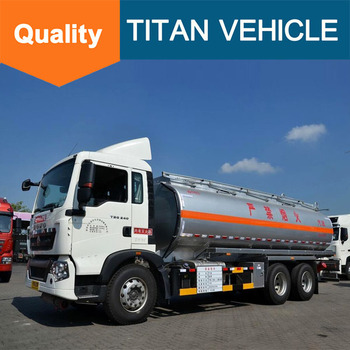 26000 Liters Steel Used Liquid Oil Fuel Transport Tanker Truck For ...