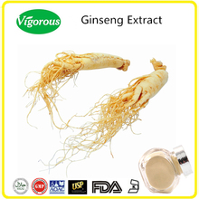 20%-80% Ginsenosides Ginseng Root Extract, Panax Ginseng Extract, Low Pesticide Ginseng Powder