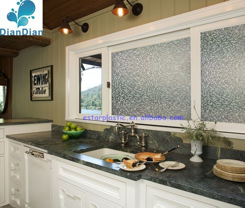 Non PVC electrostatic window film