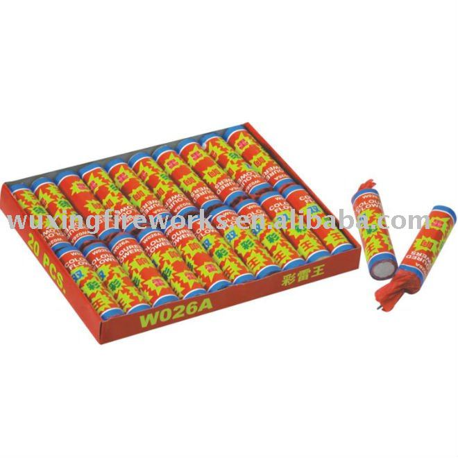 Colour Thunder Flower Fireworks 1.4G