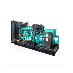 5 sets of 1000kw generator paralleling system 5mw synchronized diesel generator