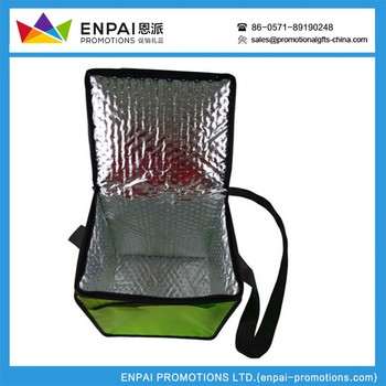 Sports & Leisure Bags , promotional gadgets cheap yellow insulated ice bag for cans