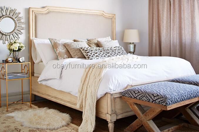 Madera franc s cama antigua dise o cl sico de madera - Camas de madera antiguas ...
