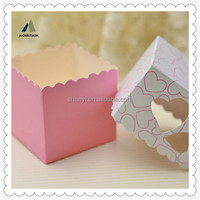 Mountain China Alibaba Wholesale Small Clear Top Gift Boxes