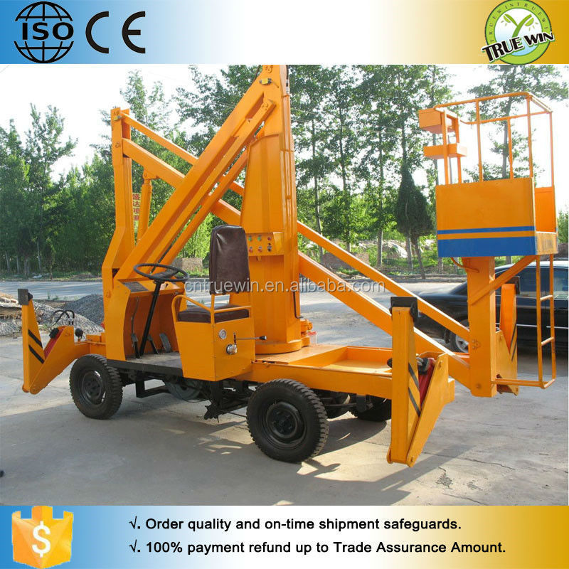 cheap small mechanical lifting mechanisms lift electric vertical boom lift
