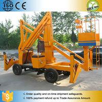cheap small mechanical lifting mechanisms lift electric vertical boom lift