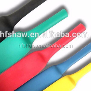 (High Quality)PVC Electric Heat Shrinkable silicone rubber Tube,Wire Insulation Sleeves