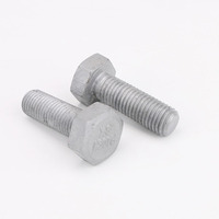 M8X170 Cup Head Bolt /& Nut AS1390 Class 4.6 UTS Hot Dip Galvanised