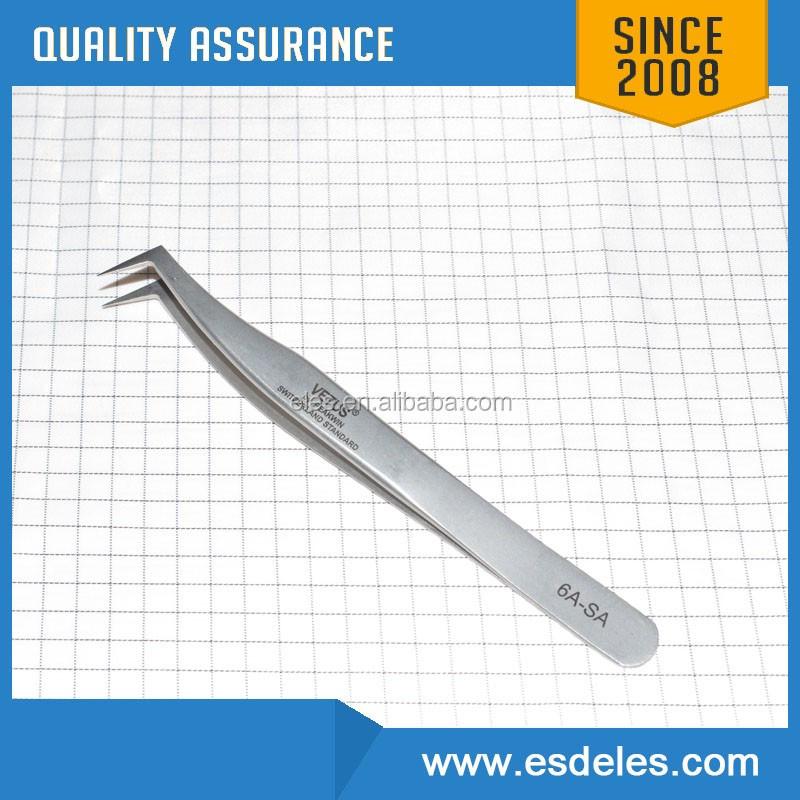3c-sa Stainless Steel Material And Eyebrow Use Volume Lash Tweezers Eyelash  Extension Tweezers - Buy Eyelash Tweezer,Tweezer,Vetus Esd Tweezers