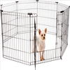 Dog Pet Playpen Heavy Duty Metal Exercise Fence Hammigrid 8 Panel 36 Inch