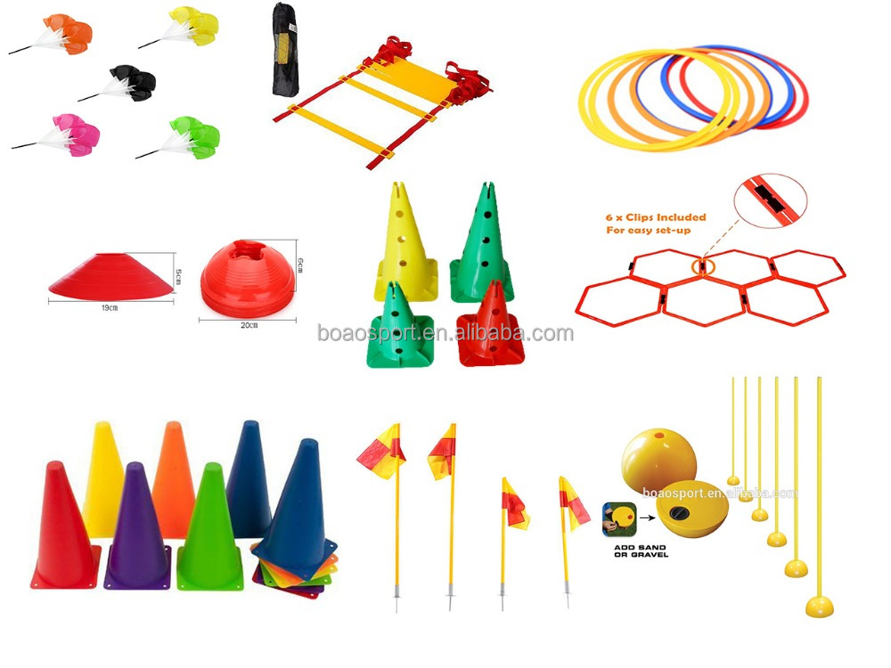 Plastic marker Cones For Soccer Football Training sports training equipment