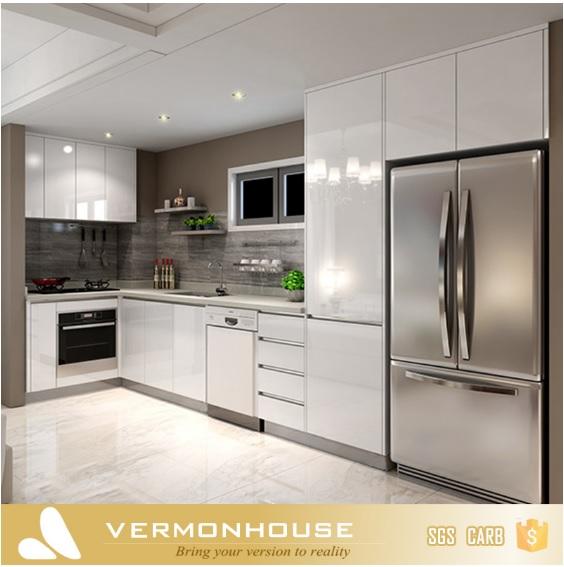 2018 Hangzhou Vermont Modern Design Kitchen Cabinets Pvc Foam