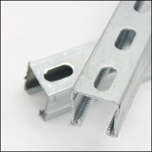 factory provide c channel unistrut channel slotted c channel