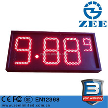 Gas Station LED Price Display, LED Price Sign
